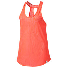 Buy Puma Active Training Mesh It Up Tank Top, Fluro Peach Online at johnlewis.com