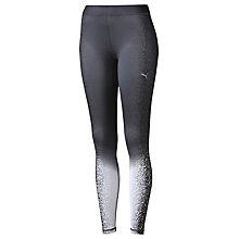 Buy Puma Active Training All Eyes On Me Tights, Black/White Online at johnlewis.com
