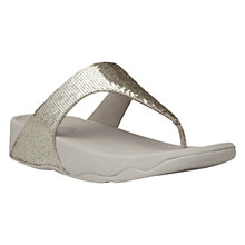Buy FitFlop Electra Classic Textile Sandals Online at johnlewis.com