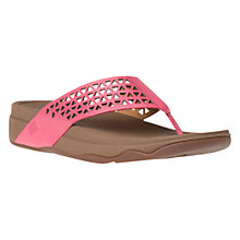 Buy Fitflop Leather Lattice Surfa Sandals Online at johnlewis.com