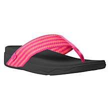 Buy FitFlop Surfa Textile Sandals Online at johnlewis.com