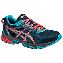 Buy Asics Gel Sonoma 2 Trail Running Shoes, Mediterranean/Flash Coral Online at johnlewis.com