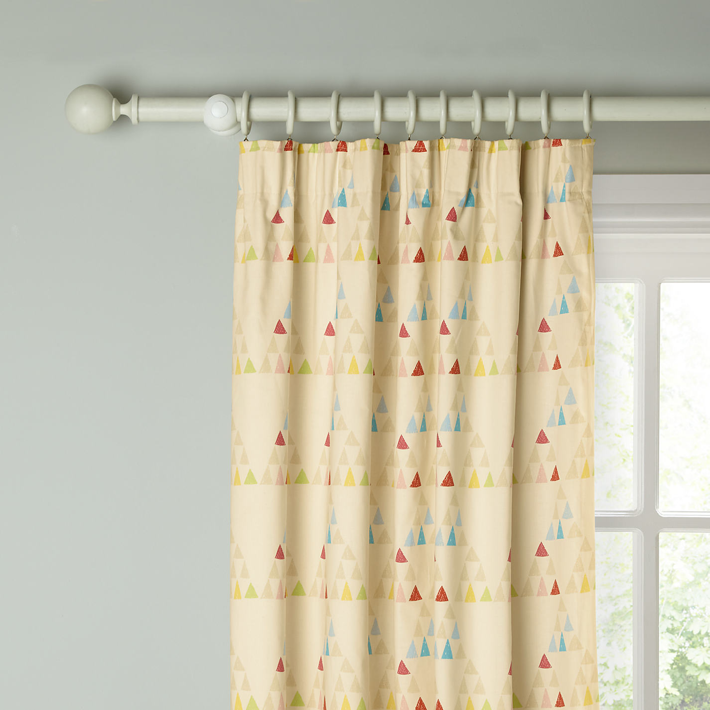 How To Make Cafe Curtains Pencil Pleat Curtains