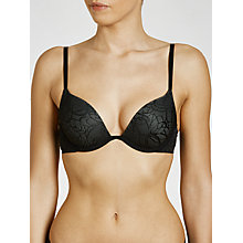 Buy DKNY Signature Plunge Push Up Bra Online at johnlewis.com