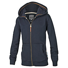 Buy Fat Face Boys' Animal Zipped Hoodie, Blue Online at johnlewis.com