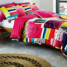 Buy Clarissa Hulse Watercolour Patchwork Bedding Online at johnlewis.com