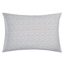 Buy MissPrint Seeds Standard Pillowcase, Black/White Online at johnlewis.com