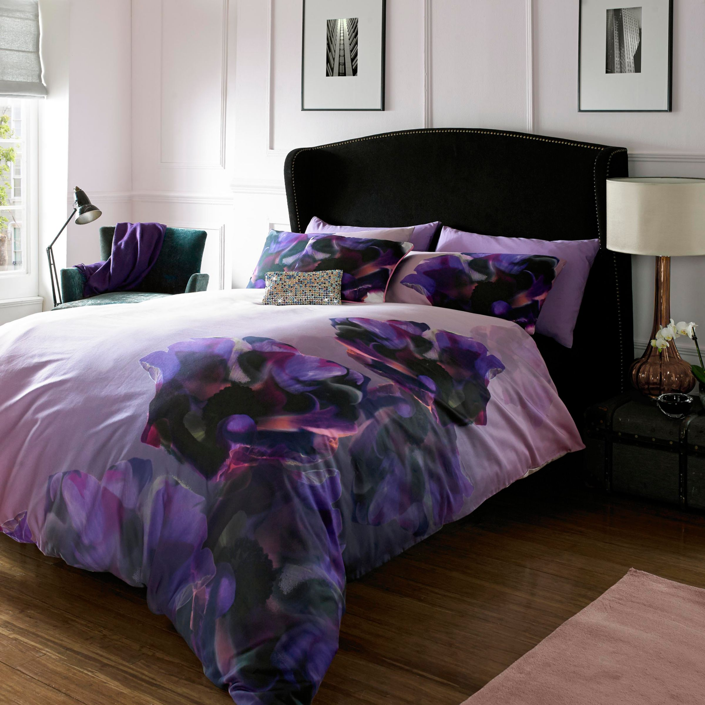 Buy Ted Baker Cosmic Bedding, Purple John Lewis