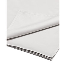 Buy Jigsaw Egyptian Cotton & Cashmere Flat Sheet, Silver Grey Online at johnlewis.com