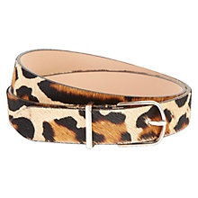 Buy Hobbs Chesterton Belt, Leopard Online at johnlewis.com
