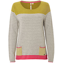 Buy White Stuff Whistling Duck Jumper, Grey/Multi Online at johnlewis.com