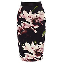 Buy Coast Winter Lily Pencil Skirt, Multi Online at johnlewis.com