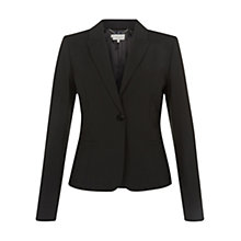 Buy Hobbs Montrose Jacket, Black Online at johnlewis.com