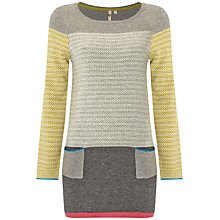 Buy White Stuff Whistling Fish Tunic Dress, Grey Online at johnlewis.com