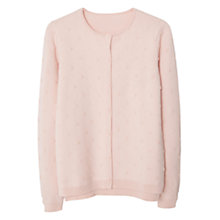 Buy Mango Applique Cardigan, Pink Online at johnlewis.com