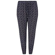 Buy Windsmoor Printed Jersey Trousers, Navy/Multi Online at johnlewis.com