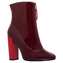 Buy Carvela Stephan Block Heeled Ankle Boots Online at johnlewis.com