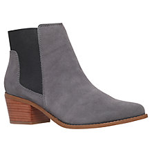 Buy Miss KG Spider Suede Ankle Boots, Grey Online at johnlewis.com
