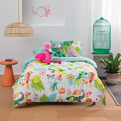 Kas Paradise Duvet Cover and Pillowcase Set
