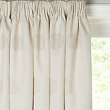 Buy John Lewis Nadia Linen Lined Pencil Pleat Curtains Online at johnlewis.com