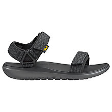 Buy Teva Terra Float Universal Sandals, Black Online at johnlewis.com
