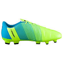 Buy Puma evoPOWER 4.3 Football Boots, Yellow/Blue Online at johnlewis.com