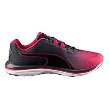Buy Puma FAAS 500 v4 Women's Running Shoes, Pink Online at johnlewis.com