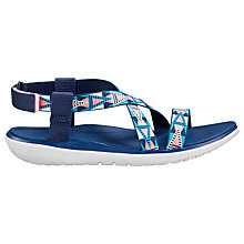 Buy Teva Terra Float Livia Sandals, Blue/Pink Online at johnlewis.com