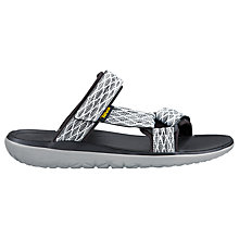 Buy Teva Terra Float Slide Sandals, Grey Online at johnlewis.com