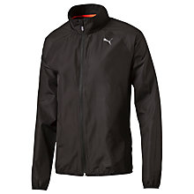 Buy Puma Windbreaker Running Jacket, Black Online at johnlewis.com