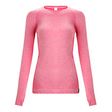 Buy Human Performance Engineering HPE Cross X Seamless Yoga Top, Pink Online at johnlewis.com