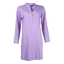 Buy Cyberjammies Patchwork Aviary Stripe Nightshirt, Blue Online at johnlewis.com