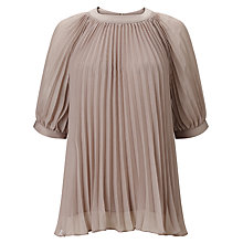 Buy Bruce by Bruce Oldfield Pleated Top, Neutral Online at johnlewis.com