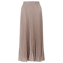 Buy Bruce by Bruce Oldfield Pleated Skirt, Neutral Online at johnlewis.com