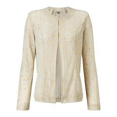Bruce by Bruce Oldfield Beaded Jacket, Cream