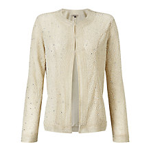 Buy Bruce by Bruce Oldfield Beaded Jacket, Cream Online at johnlewis.com