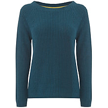 Buy White Stuff Fiori Jumper, Nepalese Blue Online at johnlewis.com