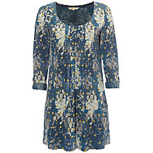 Buy White Stuff Swingdance Jersey Tunic Dress, Nep Blue Online at johnlewis.com