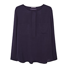 Buy Violeta by Mango Patch Pocket Blouse Online at johnlewis.com