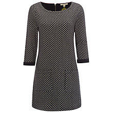 Buy White Stuff Ink Pen Jersey Tunic Top, Navy/Multi Online at johnlewis.com