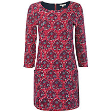 Buy White Stuff Peacock Jersey Tunic Dress, Pink Online at johnlewis.com