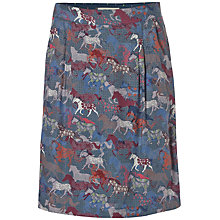 Buy White Stuff Running Wild Skirt, Iris Blue Online at johnlewis.com