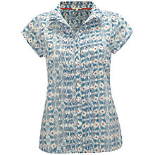 Buy White Stuff Peacock Shirt, Blue Online at johnlewis.com