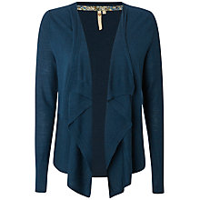 Buy White Stuff Taylor Falls Wool Cardigan, Nep Blue Online at johnlewis.com