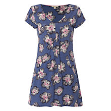 Buy White Stuff Holiday Jersey Tunic Dress, Wash Blue Online at johnlewis.com