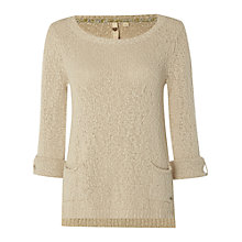 Buy White Stuff Himalaya Jumper, Natural Online at johnlewis.com