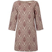 Buy White Stuff Reverse Tunic Dress, Fest Pink Online at johnlewis.com