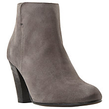 Buy Dune Black Pharah Block Heeled Ankle Boots Online at johnlewis.com