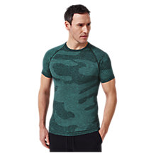Buy Human Performance Engineering HPE Cross X Seamless Camo T-Shirt Online at johnlewis.com