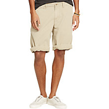 Buy Denim & Supply Ralph Lauren Chino Shorts, Burmese Tan Online at johnlewis.com